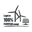 Fornybar energi sertifikat logokopp