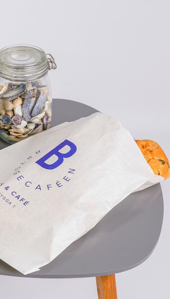 Brødposer med logo | logokopp.no