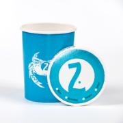 Suppebeger med lokk 16oz   Logokopp.no - Spesialister innen profilert Take Away emballasje